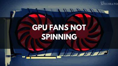 GPU Fans Not Spinning