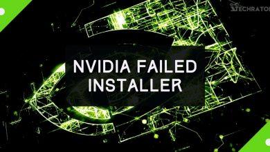 NVIDIA Failed Installer