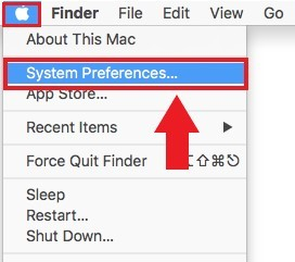 Where to find system preference settings