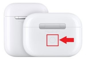 Pairing Button on Airpods