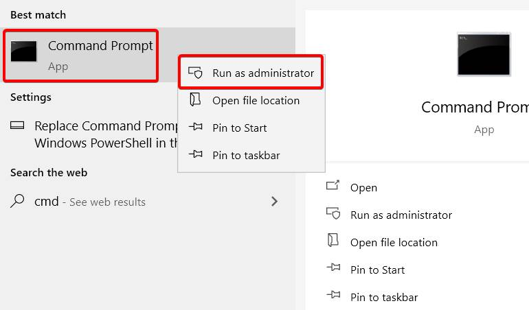How to Command Prompt as Admin